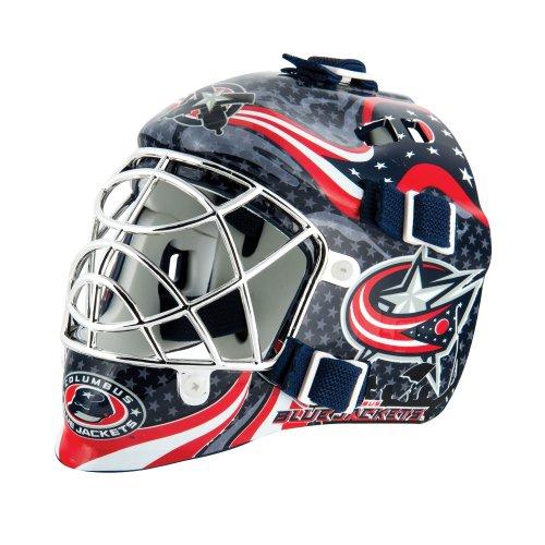 fan products of Franklin Sports NHL League Logo Columbus Blue Jackets Mini Goalie Mask