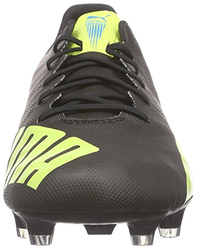 Puma Evospeed SL FG, Scarpe da Calcio Uomo Nero (Schwarz (Black-safety Yellow-white 08))