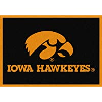 Iowa Hawkeyes NCAA College Team Spirit Team Area Rugs