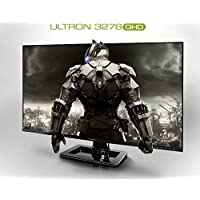 Hansung ULTRON 3278 QHD 32 Inch WQHD (2560x1440) IPS Ultra Slim Bezel Gaming Monitor, 75Hz, AMD Freesync, 10Bit, Low Blue Light & Flicker Free