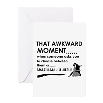 Amazon Cafepress Cool Brazilian Jiu Jitsu Designs Greeting