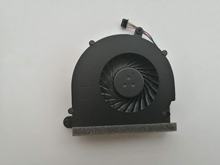 SYW·pcparts HK-Part Replacement Fan for HP Elitebook 8560p 8560w 8570p Probook 6570B 6560B 6565B Series CPU Cooling Fan SPS 686311-001 4-Pin 4-Wire