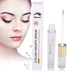Eyelash Growth Serum, Eyelash Enhancing Serum, Eyebrow Growth Serum, Eyelash Growth Enhancer and Brow Serum for Long, Luscious Lashes and Eyebrows 5 Milliliter