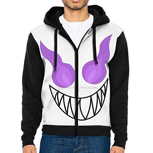Losport Evil Dragon Men's Adult Full-Zip Hooded Fleece Sweatshirt Casual Long Sleeve Hoodies - Usps Tracking In Canada