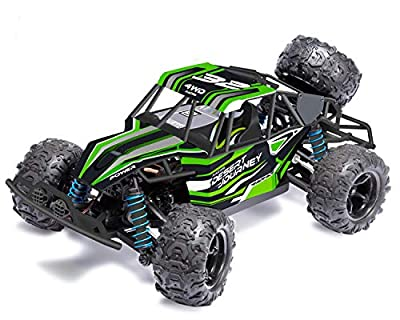 RC Cars 1/18 Scale 4WD High Speed Rock Crawler Vehicle 2.4Ghz Radio Remote Control Off Road RTR Racing Monster Trucks Fast Electric Race Desert Power Buggy