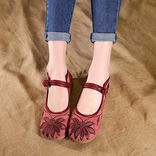 40 Rouge Taille Rouge EU coloré Chaussures ZHRUI cWYqSX8n