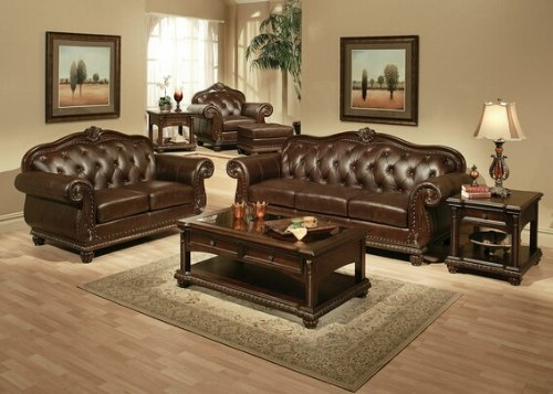 sofas with wood trim - 3