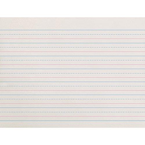 Everett Pad & Paper Broken Midline Writing Paper, Grade K-1, 5/8