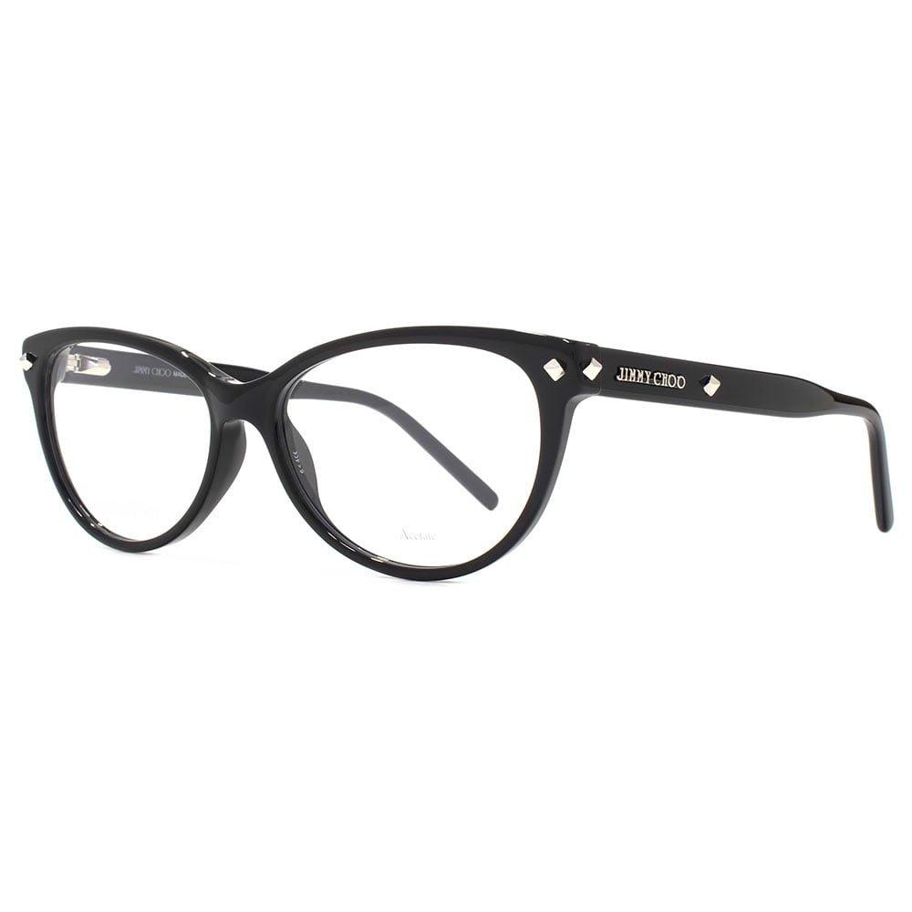 Original New Jimmy ChOOJC 163 807 Black Frame Round Eyeglasses 54