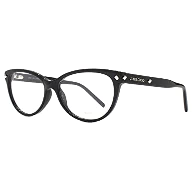 ea99ea1b7f4 Amazon.com  Jimmy Choo Jimmy Choo 163 0807 Black Eyeglasses  Clothing
