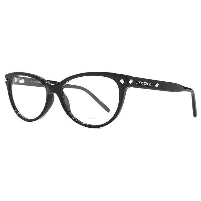 Jimmy Choo JC163 807 54, Gafas de sol para Mujer, Negro ...