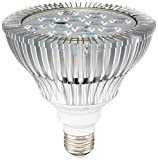OxyLED LED Grow Light Bulb, Hydroponic Plant Grow Lights for Greenhouse (E26 12W 3Blue/9 Red LEDs)