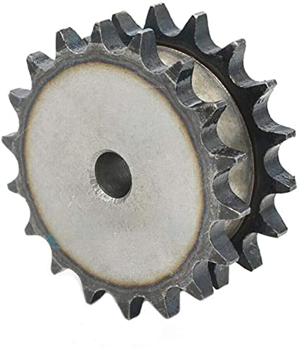 Size : 10A 11 Teeth FLY MEN 1Pcs 10A 11 Teeth to 23 Teeth Sprocket Wheel Double Row Chain Gear 45 Steel