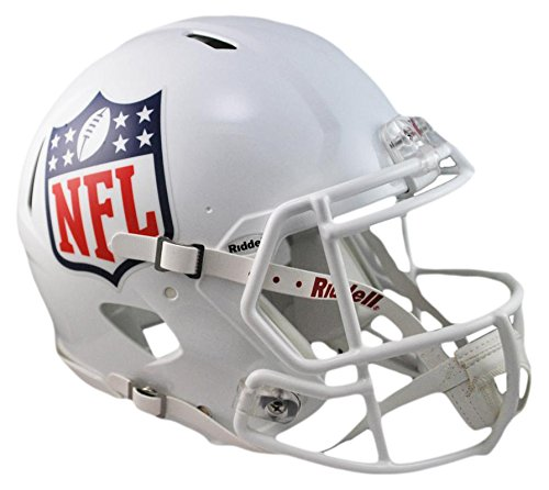 NFL Riddell Full Size Replica Speed Helmet, Medium, White by Riddell