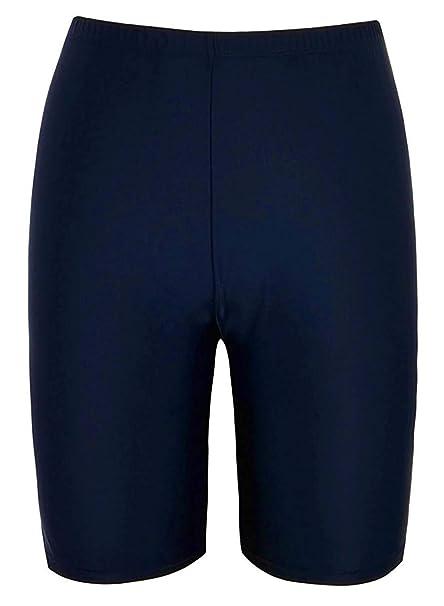 Taylover Avellara Damen Schwimmen Wäsche Badeanzug Shorts Bauchkontrolle Wassersport Bikini Slip mit Raffung