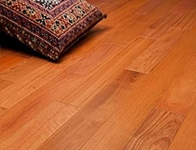 "Brazilian Cherry Clear Prefinished Solid Wood Flooring 5"" x 3/4"" Samples at Discount Prices by Hurst Hardwoods"