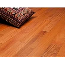 """Brazilian Cherry Clear Prefinished Solid Wood Flooring 5"""" x 3/4"""" Samples at Discount Prices by Hurst Hardwoods"""
