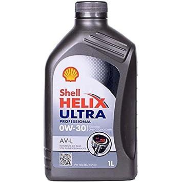 SHELL Helix Ultra Professional AV-L 0W30 aceites lubricantes, 1L: Amazon.es: Coche y moto