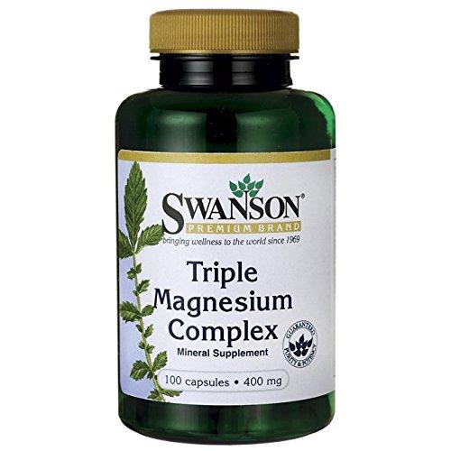 Swanson Triple Magnesium Complex Caps