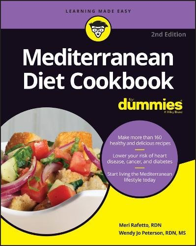 Book Cover: Mediterranean Diet Cookbook For Dummies