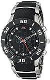 U.S. Polo Assn. Men's Analog-Digital Dial Gun Metal Bracelet Watch Black US8163