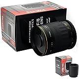 Opteka 500-1000mm High Definition Mirror Telephoto Lens for Nikon D7100, D7000, D5200, D5100, D5000, D3200, D3100, D3000, D800, D700, D600, D300, D200, D100, D90, D80, D70, D60, D50, D40, D40x, D2HS, D2XS, D4 & D3 DSLR Cameras