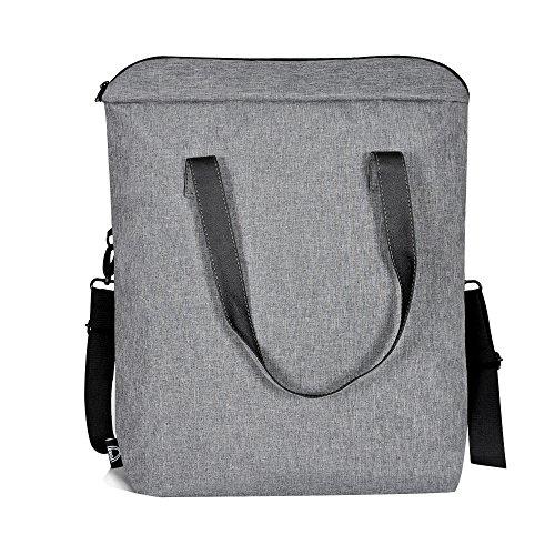 LUYADA Borsa da palestra, Gray (grigio) - FY-B16015