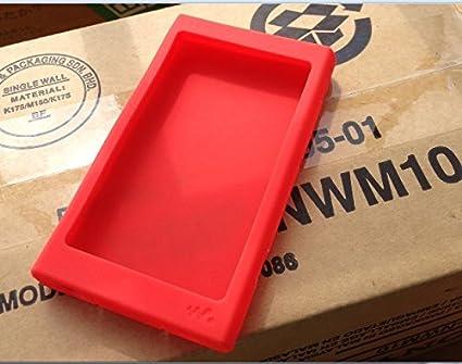 Sony Walkman NW-A35 Case, Sony Walkman NW-A36 Case,Sony Walkman NW-A37HN Case, Silicone Case for Sony NW-A35 A36 A37HN (Red) Bestfitshop