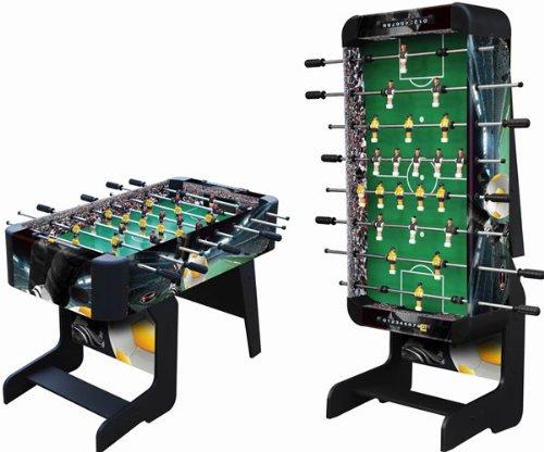 Playcraft Sport Foosball Table with Folding Leg, Black,...