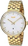 Vestal Unisex ROS3M001 Roosevelt Metal Analog Display Analog Quartz Gold Watch