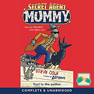 Secret Agent Mummy Audiobook