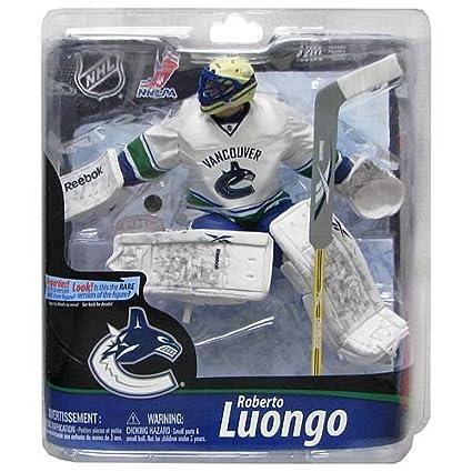 Nhl Vancouver Canucks Roberto Luongo Action Figure Amazon Ca Home