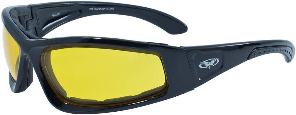 Global Vision Eyewear Schwarz Rahmen triumphierend Sicherheit Gl/äser