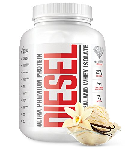 Price comparison product image Diesel - New Zealand Whey Vanilla 5lbs
