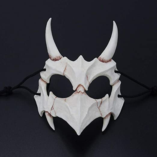 Baojintao Estilo de Dioses japoneses, Máscara de Resina de ...