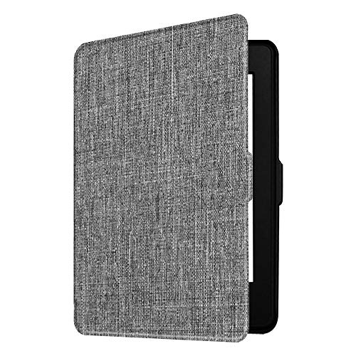 Fintie Slimshell Case for Kindle Paperwhite - Fits All Paperwhite Generations Prior to 2018 (Not Fit All-New Paperwhite 10th Gen), Denim Gray