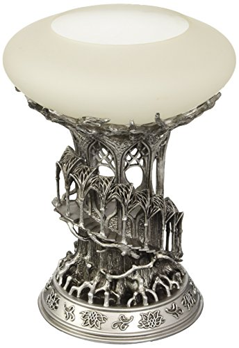 The Noble Collection-The Lord of The Rings Lothlorien Candle - Glass Holder Lord Candle