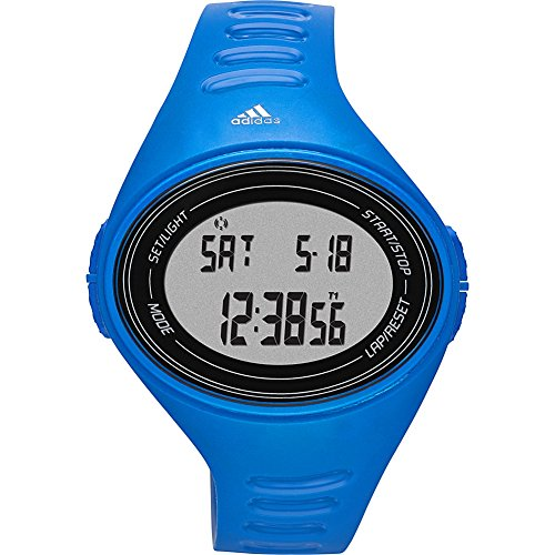 Adidas Sport Performance Buckle (adidas Unisex ADP6108 Digital Blue Watch with Polyurethane)