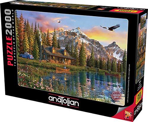 Anatolian Old Look Cabin Jigsaw Puzzle (2000 Piece)