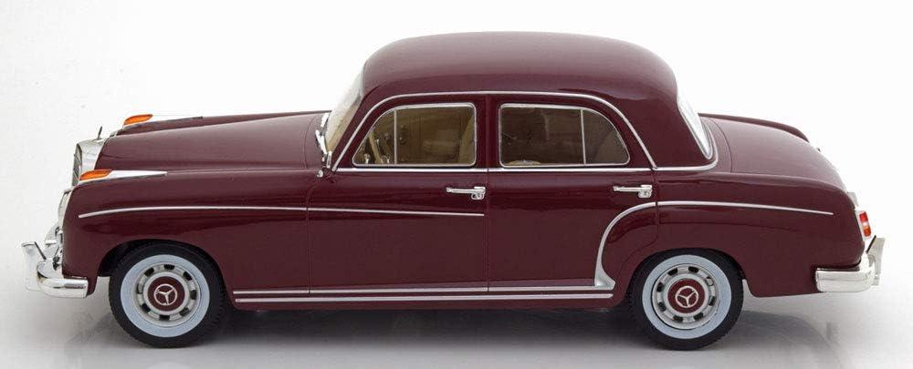 Mercedes 220s Limousine W180 Ii Dunkelrot 1956 Modellauto Fertigmodell Kk Scale 1 18 Spielzeug
