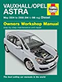 Vauxhall/Opel Astra (04-08) Service and Repair Manual (Haynes Service and Repair Manuals)