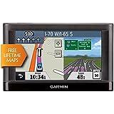"Garmin Nuvi 55LM 5"" Touchscreen Car Sat Navigation GPS w/Lifetime Maps 0119-801 (Certified Refurbished)"