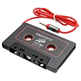 RocketBus Audio Cassette Tape Adapter Aux Cable Cord 3.5mm Jack for to MP3 iPod CD Player iPhone 3 4 5 6 Samsung Galaxy S3 S4 S5 S6 S7 S8 Plus Note 2 3 5 6 7 8 Nokia LG Cellphones