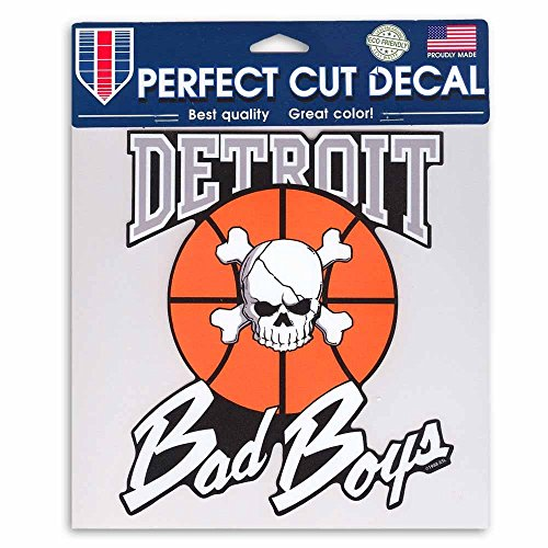 Detroit Pistons Bad Boys Decal- Vintage Throwback NBA Die Cut Decal