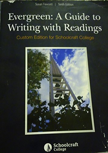evergreen a guide to writing with readings 9781305767249 slugbooks rh slugbooks com evergreen guide to writing with readings evergreen guide to writing with readings 11th edition