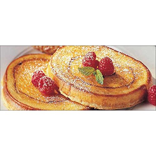 Michael Foods Papettis Cinnamon Swirl French Toast, 2.5 Ounce -- 100 per case. ()