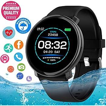 Amazon.com: LAIWUSSY L8 Smart Bracelet Fitness Tracker ECG+ ...