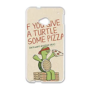 TMNT Teenage Mutant Ninja Turtles White htc m7 case