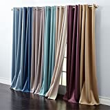 Best BrylaneHome Home Curtain Panels - Brylanehome Madison Room Darkening Grommet Curtain Review