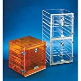 Shelf f/Stackable Acrylic Dessicator Cabinets w/Gas Ports, clear, 12'' x 12''